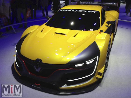 Mondial automobile Paris 2014 Renault RS 01