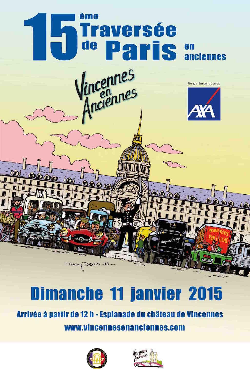 15è traversée de paris affiche
