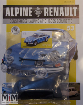 Alpine Renault A110 1600S berlinette - Fascicule 53