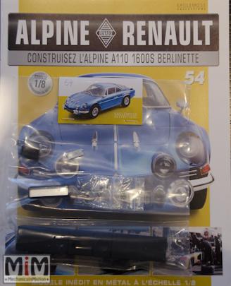 Alpine Renault A110 1600S berlinette - Fascicule 54