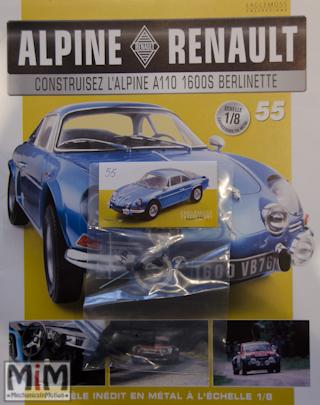 Alpine Renault A110 1600S berlinette - Fascicule 55
