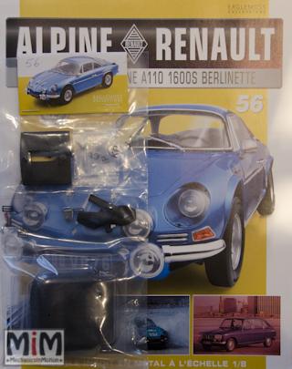 Alpine Renault A110 1600S berlinette - Fascicule 56