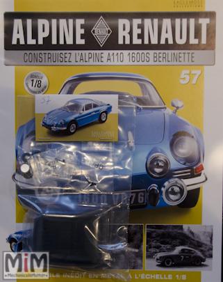 Alpine Renault A110 1600S berlinette - Fascicule 57