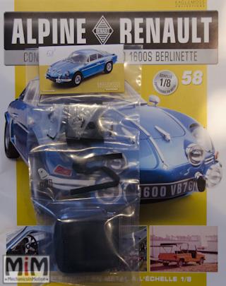 Alpine Renault A110 1600S berlinette - Fascicule 58