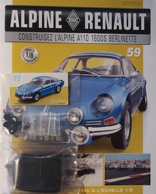 Alpine Renault A110 1600S berlinette - Fascicule 59