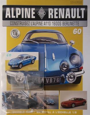 Alpine Renault A110 1600S berlinette - Fascicule 60