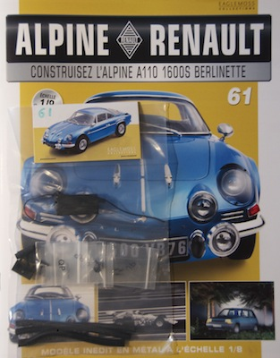 Alpine Renault A110 1600S berlinette - Fascicule 61