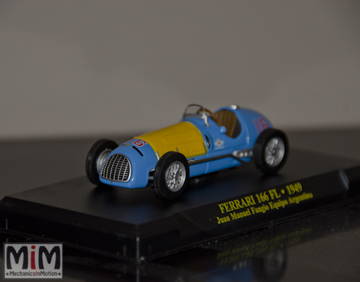 Fabbri collection Ferrari 166 FL #53