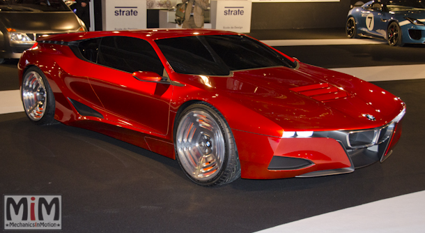 Festival automobile international 2015 - BMW M1 hommage