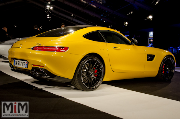 Festival international automobile Mercedes AMG GTS-2