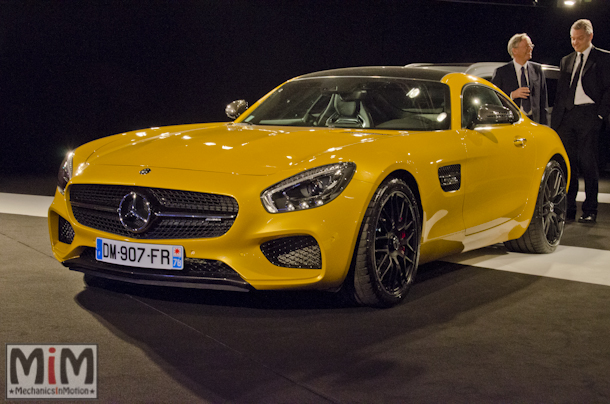 Festival international automobile Mercedes AMG GTS