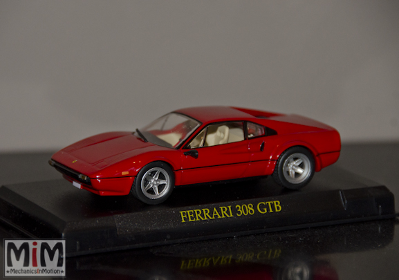 Hachette GT Collection Ferrari 308 GTB