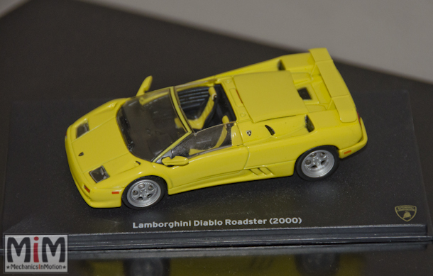 Hachette Lamborghini Collection | Lamborghini Diablo Roadster 2000