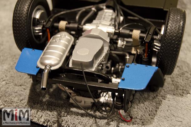 Montage Alpine Renault A110 1600S berlinette - étape 8c