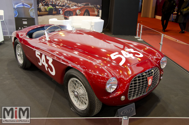 Ferrari 212 export barchetta RM Auctions | Rétromobile 2015-3