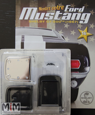 Ford Mustang Shelby GT 500 au 1:8 - fascicule 16