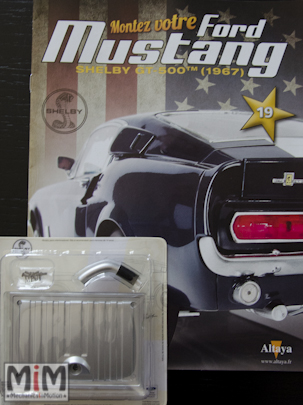Ford Mustang Shelby GT 500 au 1:8 - fascicule 19