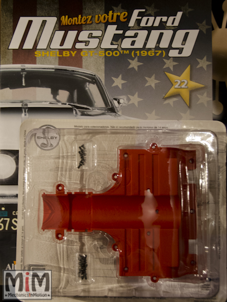 Ford Mustang Shelby GT 500 au 1:8 - fascicule 22
