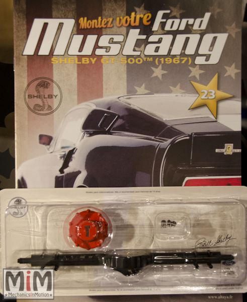 Ford Mustang Shelby GT 500 au 1:8 - fascicule 23