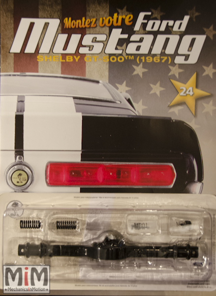 Ford Mustang Shelby GT 500 au 1:8 - fascicule 24
