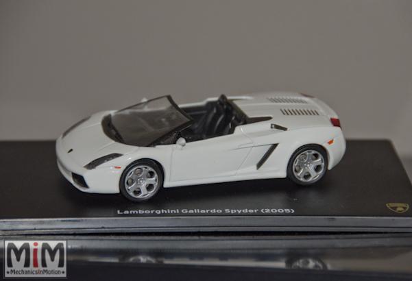 Hachette Lamborghini Collection | Lamborghini Gallardo Spyder 2005