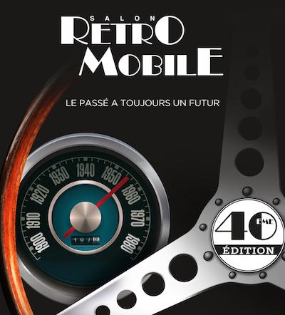 Retromobile 2015 Affiche
