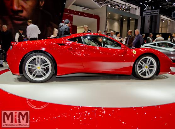 Ferrari 488 GTB Rosso Salon de Genève 2015-4