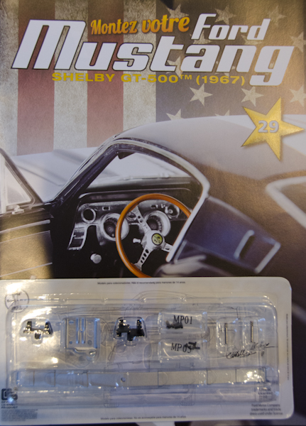 Ford Mustang Shelby GT 500 au 1:8 - fascicule 29