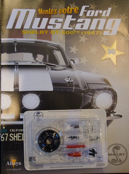Ford Mustang Shelby GT 500 au 1:8 - fascicule 30