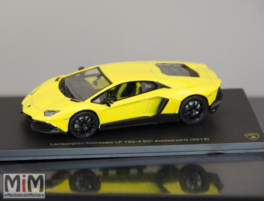 Hachette Lamborghini Collection | Lamborghini Aventador LP 720-4 50è anniversaire