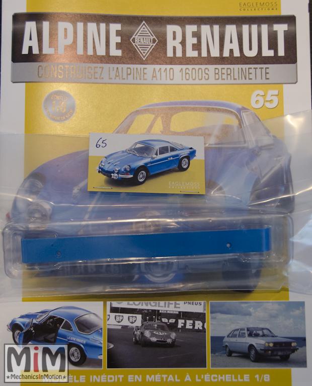 Alpine Renault A110 1600S berlinette - Fascicule 65