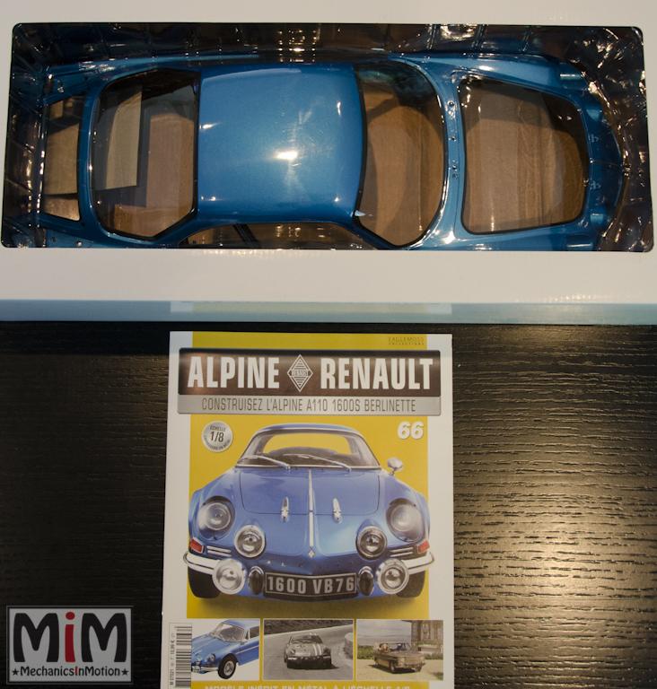 Alpine Renault A110 1600S berlinette - Fascicule 66