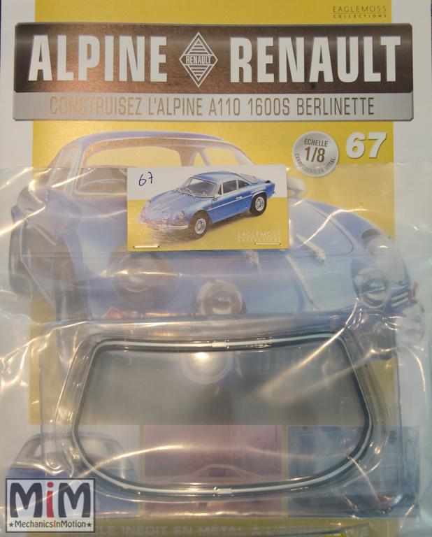 Alpine Renault A110 1600S berlinette - Fascicule 67