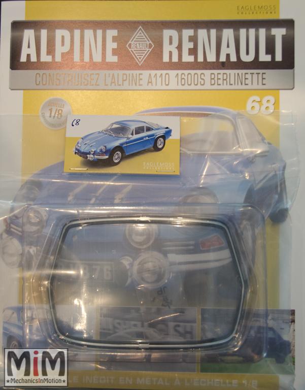Alpine Renault A110 1600S berlinette - Fascicule 68