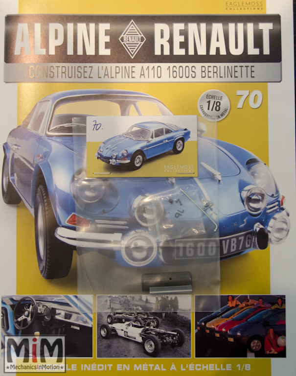 Alpine Renault A110 1600S berlinette - Fascicule 70