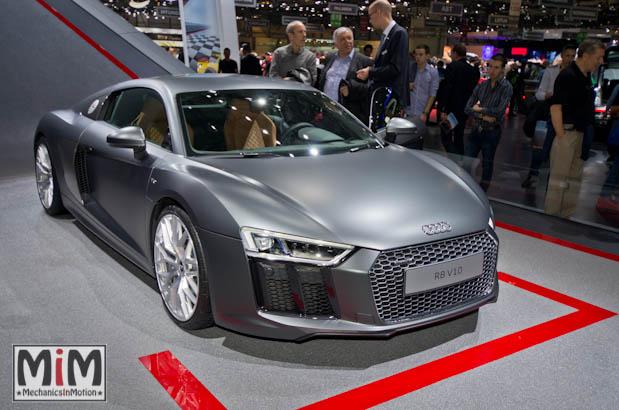 Audi R8 V10 | Salon de Genève 2015