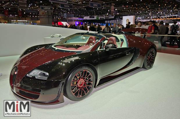 Bugatti Veyron La Finale | Salon de Genève 2015