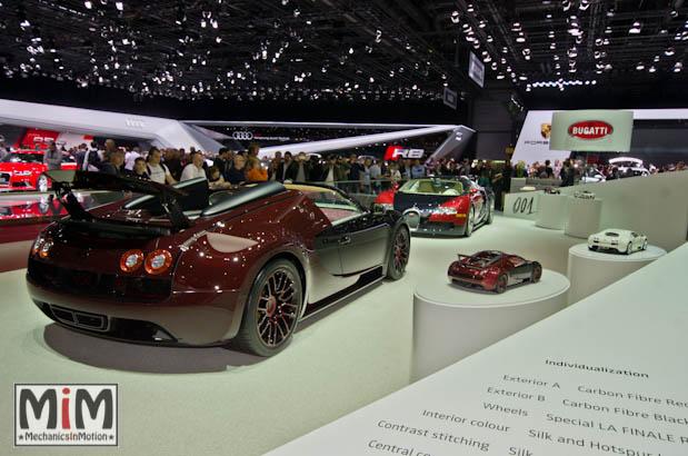 Bugatti Veyron La Première et La Finale | Salon de Genève 2015