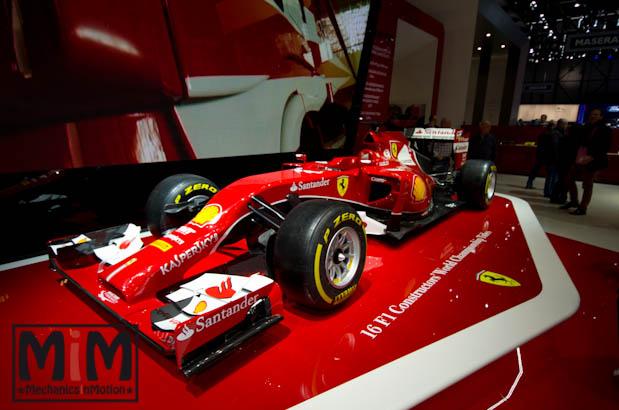 Ferrari F14T | Salon de Genève 2015
