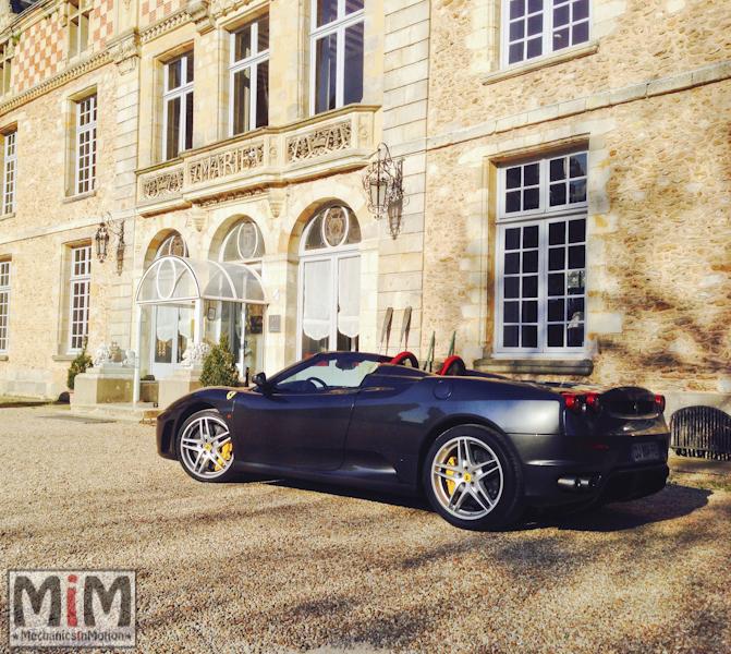 Ferrari F430 spider F1 - Château Esclimont