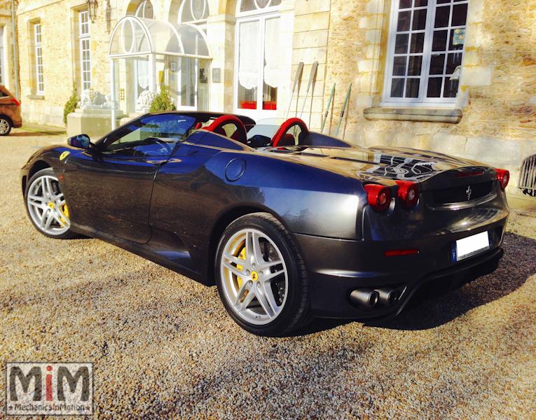 Ferrari F430 spider F1 - Château Esclimont_2