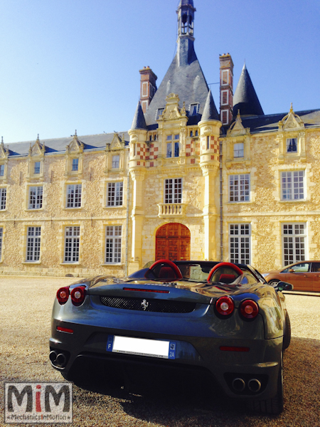 Ferrari F430 spider F1 - Château Esclimont_3