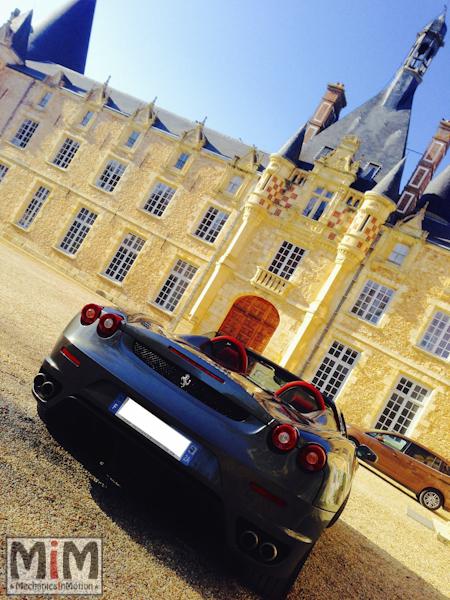 Ferrari F430 spider F1 - Château Esclimont_4