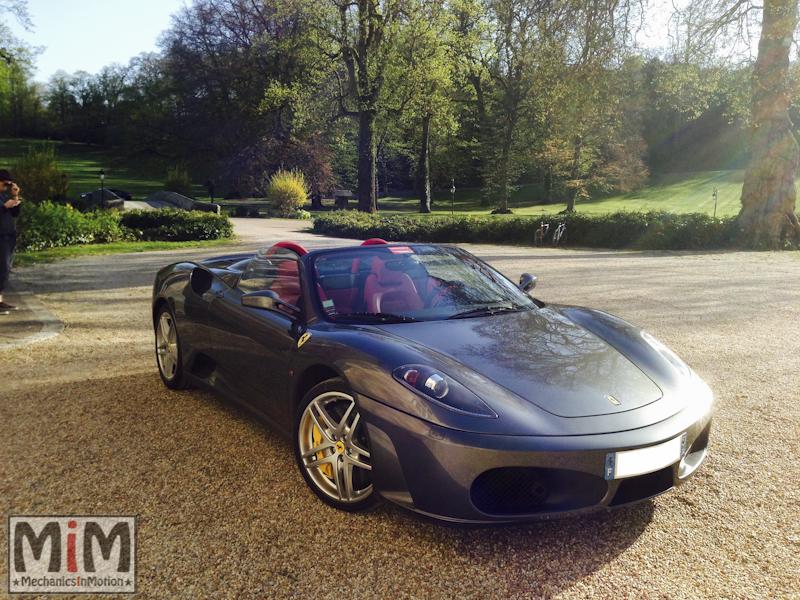 Ferrari F430 spider F1 - Château Esclimont_5