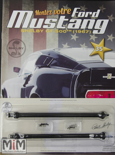 Ford Mustang Shelby GT 500 au 1:8 - fascicule 35