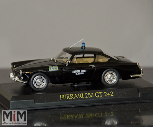 Hachette GT Collection Ferrari 250 GT 2+2 Polizia