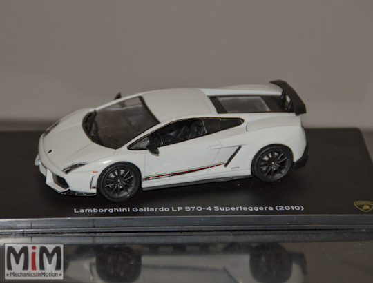 Hachette Lamborghini Collection | Lamborghini Gallardo LP 570-4 Superleggera 2010