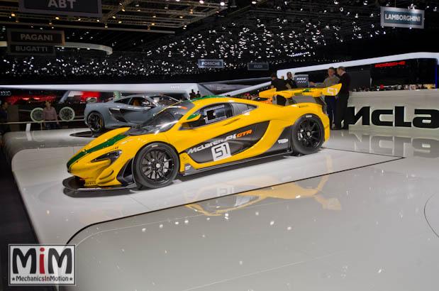 McLaren P1 GTR | Salon de Genève 2015
