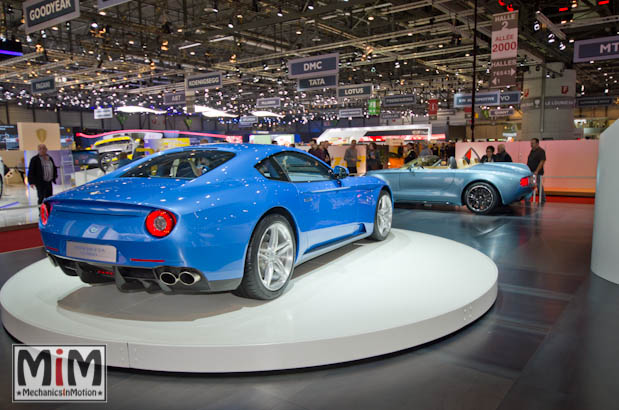 Touring Superleggera berlinetta lusso | Salon de Genève 2015