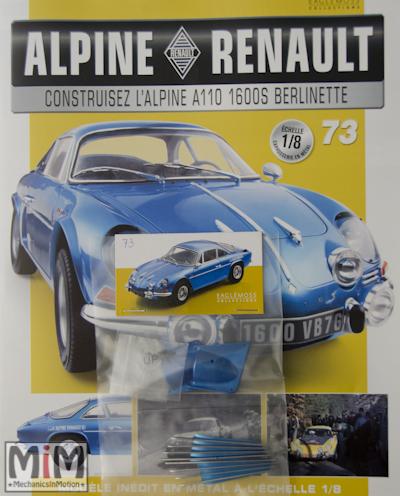 Alpine Renault A110 1600S berlinette - Fascicule 73